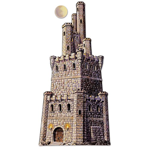 Jointed Castle Tower Party Accessory (1 count) (1/Pkg) -