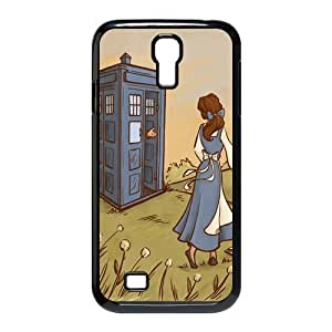 Customize Doctor Who Police Box Back Case for Samsung Galaxy S4 I9500