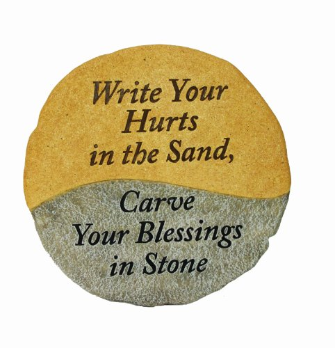 Spoontiques Write Your Hurts in Sand Stepping Stone