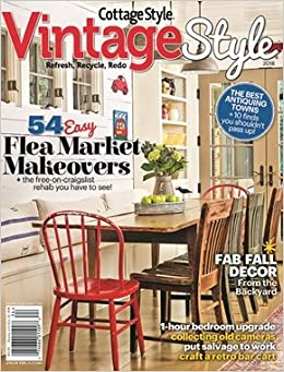 Excellent Vintage Style Magazine 2018 124 Cottage Style Various Home Interior And Landscaping Palasignezvosmurscom