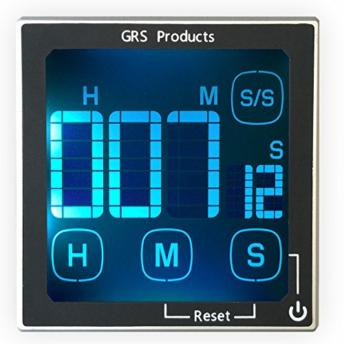 Kitchen Timers, Cooking Timers, Baking Timers - Large Clear Digital Display - Loud 60 plus dB Alarm - Magnetic Back.