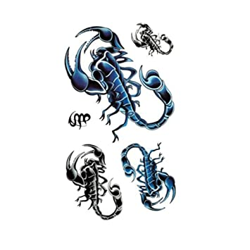 Tatuaje apliques brazo hombres y mujeres impermeable cabeza de ...
