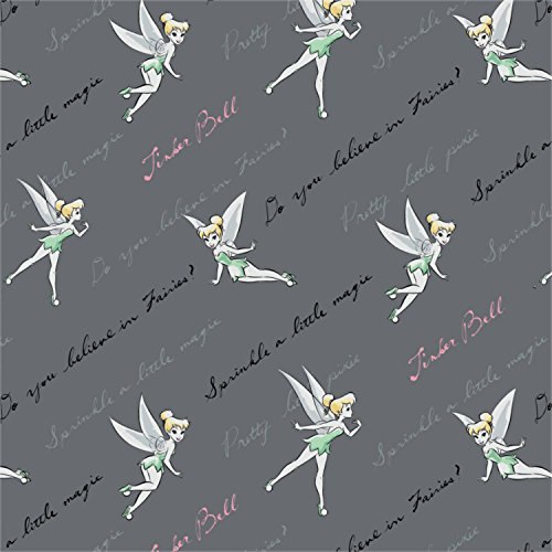 Disney Tinkerbell Do You Believe? In Iron Fabric by the (Tinkerbell Iron)