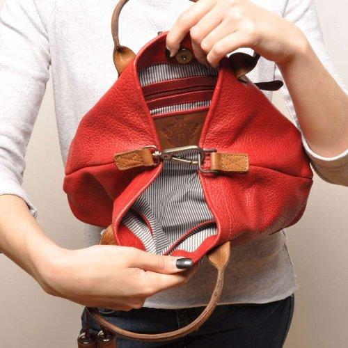 berba Chamonix 104 Handtasche in rot