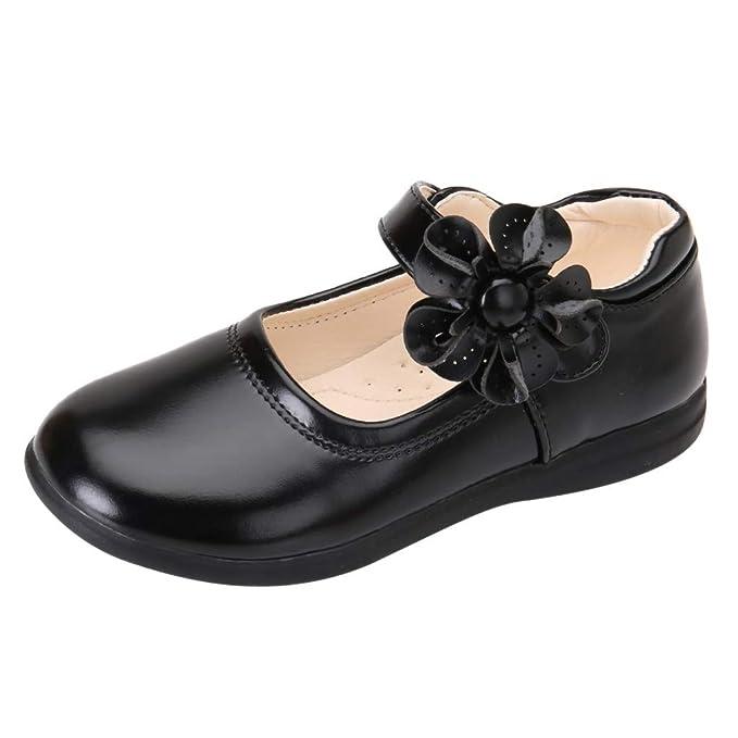 Amazon.com: LNGRY - Zapatos de bebé para niñas, diseño ...