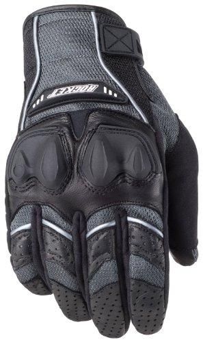Joe Rocket Black Mesh Glove (Joe Rocket Men's Phoenix 4.0 Motorcycle Riding Gloves (Grey/Black/Silver, Medium))