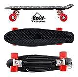 Kobe 40-32001 Black Penny Skate with Red Wheels, 22-Inch