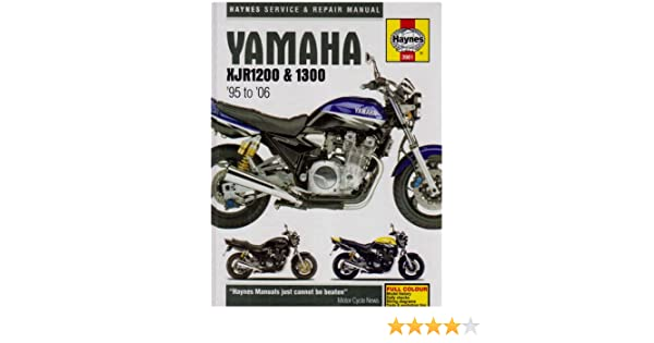 yamaha xjr1200 and 1300 service and repair manual 1995 to 2006 rh amazon com yamaha xjr 1200 owners manual download yamaha xjr 1200 service manual pdf