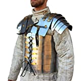 Brass Nautical Roman Soldier Military Lorica Segmentata Body Armor 20g Steel