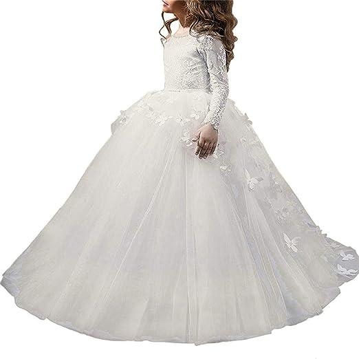 ChenYongPing Falda de Leotardo para niñas Vestido de Dama de ...