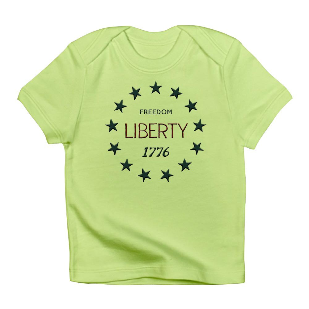 Truly Teague Infant T Shirt 1776 Freedom Liberty Stars Kiwi 18 To 24 Months 1919