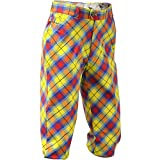 Royal & Awesome Men's Golf Knickers, Plaid Awesome, 32
