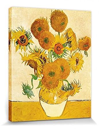 Amazonde 1art1 81652 Vincent Van Gogh Vierzehn Sonnenblumen In