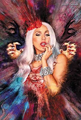 "J-4492 Lady Gaga - Music Wall Decoration Poster#2 Size 24""x35""inch. Rare New - Image Print Photo"