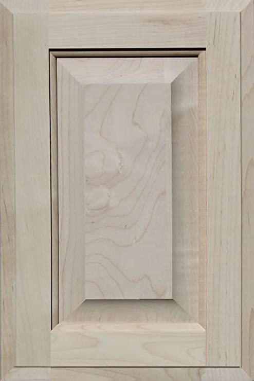 39H x 10W Unfinished MDF Square Flat Panel Cabinet Door by Kendor