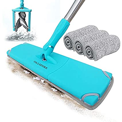 Amazon Ollsdire Microfiber Mop Laminate Floor Cleaner Dust Mop