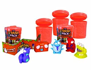 The Trash Trashies in Bins (Pack of 5) by The Trash Pack