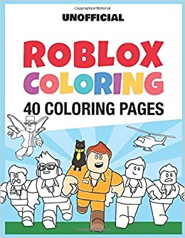 Roblox Coloring 40 Coloring Pages Happyfun Publishing - roblox noob side view