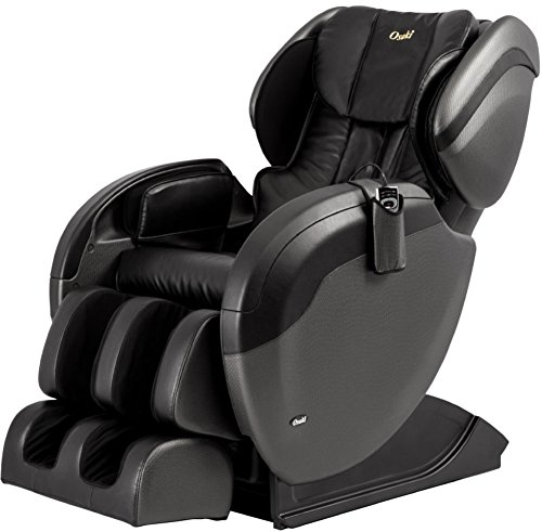 Osaki OS-TW PRO 3 A Massage Chair, Black, 3 Stage Zero Gravity, Auto Body Scanning, Space Saving Design, Full Body L-Track Massage, Dual Action Massage, 4 Sets of Auto Massage Program