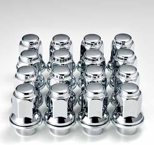レクサス『純正タイプ』 4穴アルミホイール用ナット47mmロング クローム メッキ4重層 1台分16個
