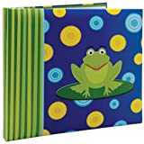 MCS MBI 13.5x12.5 Inch 3-D Character Scrapbook Album with 12x12 Inch Pages, Frog (848137)