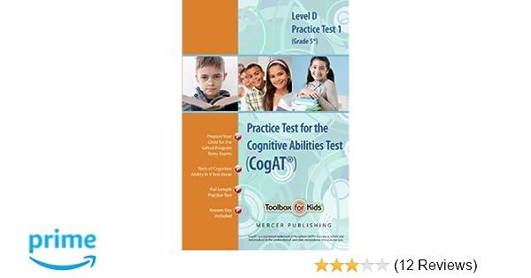 Cognitive Abilities Test CogAT® Multilevel D Book (Grade 5