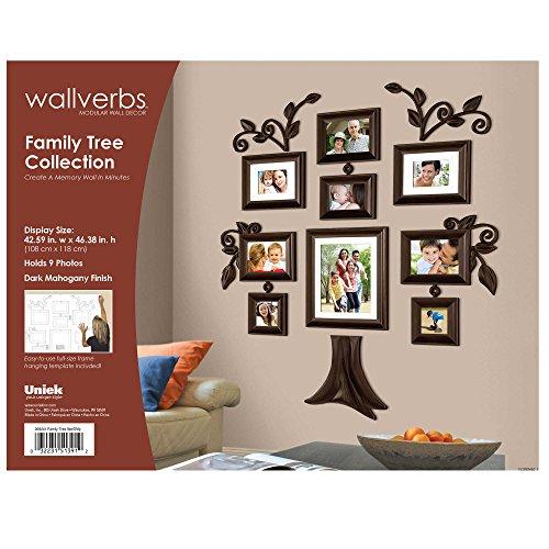 Amazon family tree 9 piece family tree collection picture frames saigontimesfo