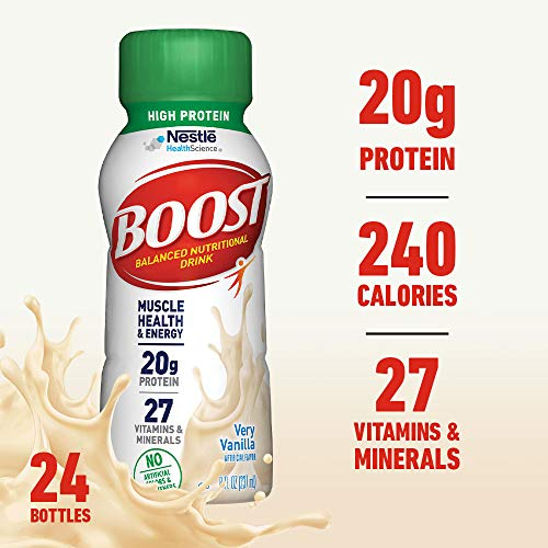 Boost High Protein Complete Nutritional Drink 24 Pack Now $15.36