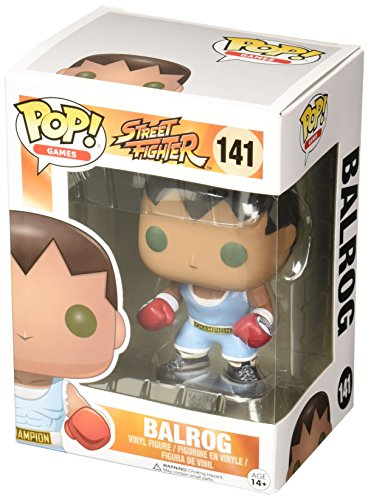 POP! Vinilo - Games Street Fighter Balrog