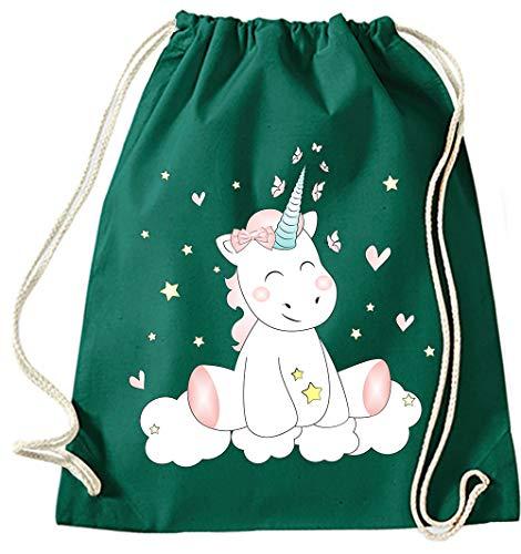 À Gymsack Jute green Sacs CutieMauve Main Hipster Licorne De Sport Coton Dos Sac Bottle Gymnastique Tissu En Toile yYbv6gf7