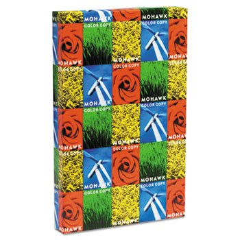 Mohawk - Color Copy 98 Cover, 80 lbs., 18 x 12, Bright White, 250 Sheets/Pack