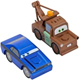 Disney Pixar's Cars 2 Wood Collection 2-Pack - Tow Mater & Rod Torque Redline