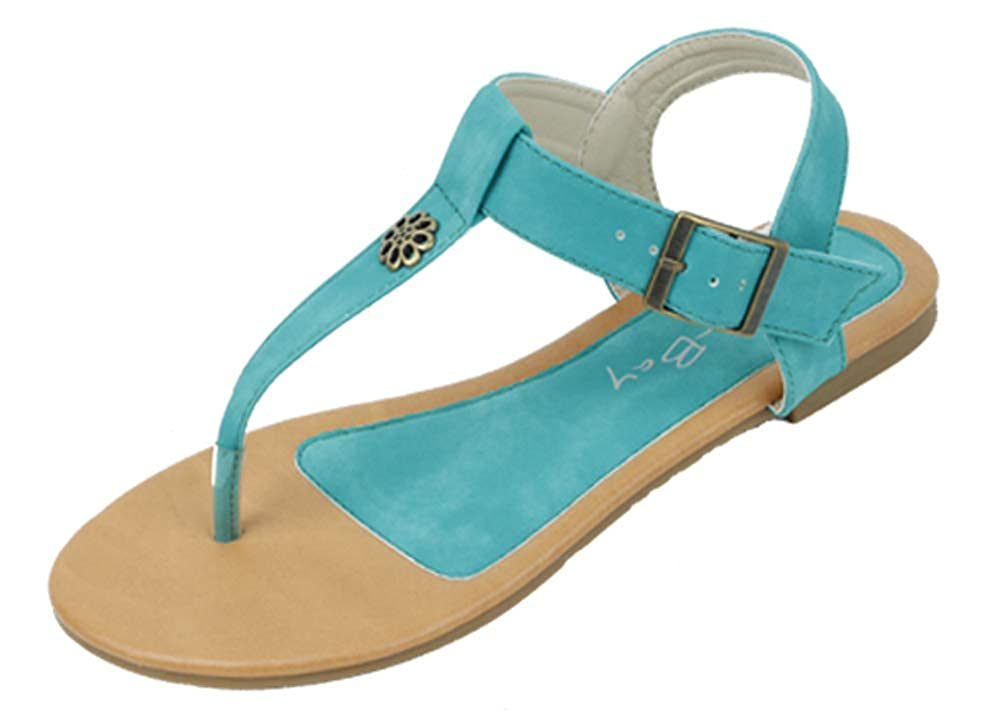 2329b1f1a3 Amazon.com   Starbay New Brand Women's T-Strap Gladiator Flats Sandals    Flats