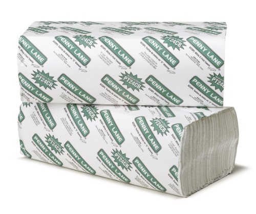 Bay West 8220 Paper Towel, Single-Fold, Bleached (12 Pack of 200)