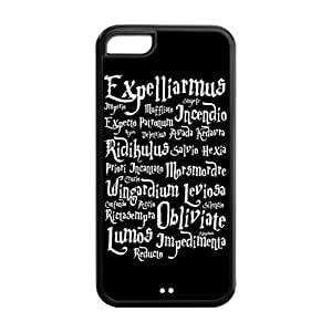 Protective TPU Rubber Coated Cell Phone Case Cover for iPhone 6 (4.5) - Harry Potter