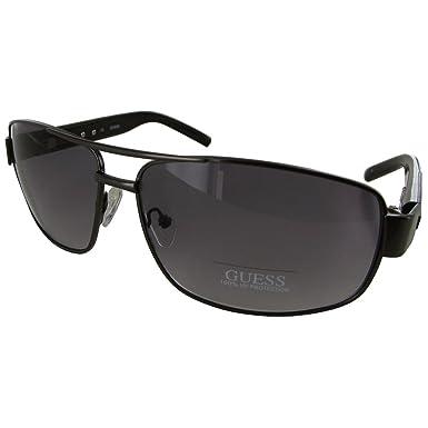 ba63af308f1 Amazon.com  Guess Men GU6714 Aviator Fashion Sunglasses Gunmetal ...