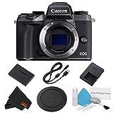 Canon EOS M5 Mirrorless Digital Camera Body Only Basic Bundle - International Model