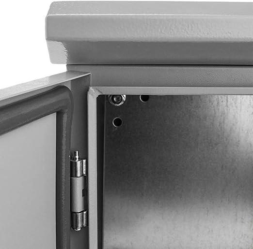 Coffret /électrique en m/étal avec Protection IP65 pour Fixation au Poteau 300 x 300 x 200 mm BeMatik