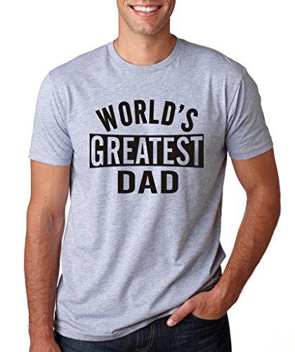 - SignatureTshirts Men's Worlds Greatest Dad T-Shirt XL Sport Grey