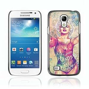 CaseCaptain Carcasa Funda Case - Samsung Galaxy S4 MINI / Pop Art Monroe & Tattoo /