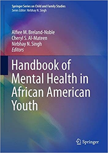 Amazon Com Handbook Of Mental Health In African American Youth