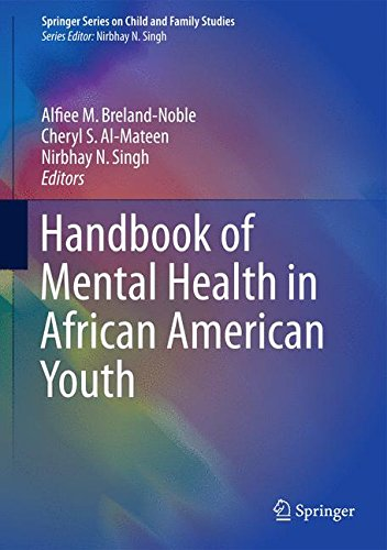 Search : Handbook of Mental Health in African American Youth (Springer Series on Child and Family Studies)