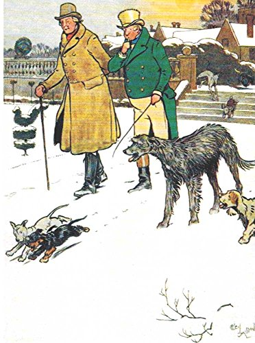 Irish Wolfhound Packaged Christmas Cards 2 Pack 16 Cards ...