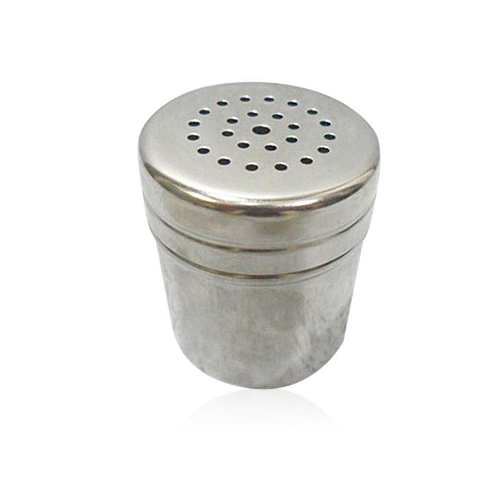JUNGEN Stainless Steel Cruet Salt Pepper Seasoning Condiment Box Spice Shaker Bottle