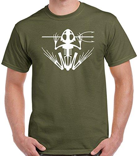 Pro Art Shirts Men's Navy Seal Frog T-Shirt Large Army
