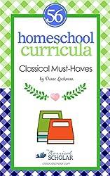 Homeschool Curricula:  56 Classical Education
