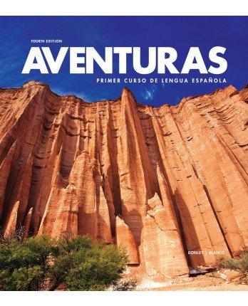 Aventuras 4th Edition Bundle - Student Edition, Supersite Code, Workbook/Video Manual & Lab Manual