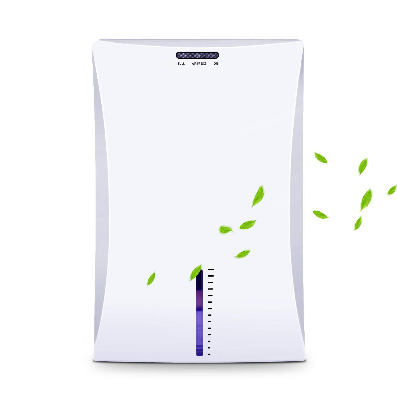 LATITOP Small Dehumidifier, Electric Home Dehumidifier with 2L Water Tank