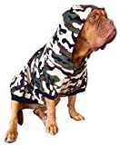 #5: Big Dog Camo Print Fleece Hoody XL Dog Clothes (Large)