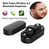 In-Ear Earphone ,Tuscom@ Mini Twins Wireless Bluetooth Stereo Headset